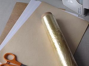 Бумага для заморозки своими руками: мастер-класс