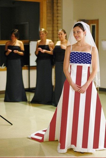 платье флаг