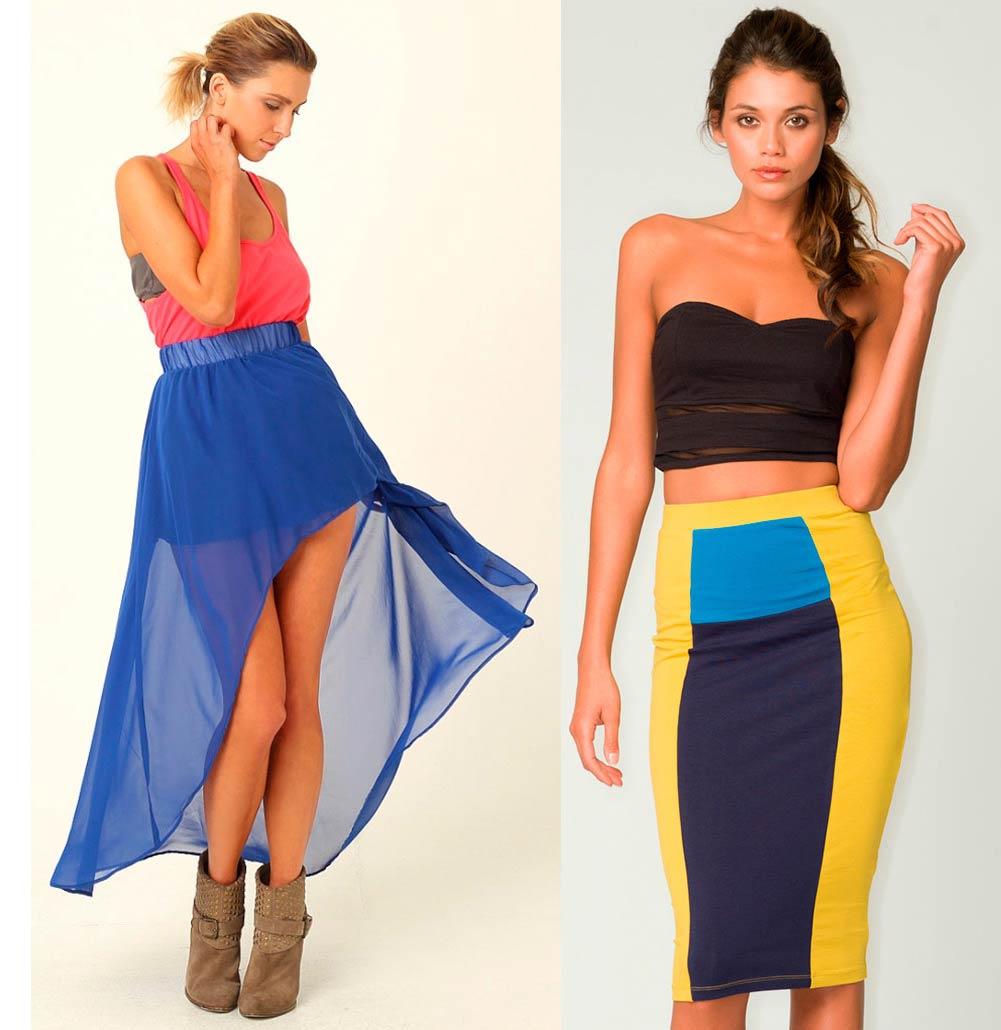 Как и с чем носить юбки?