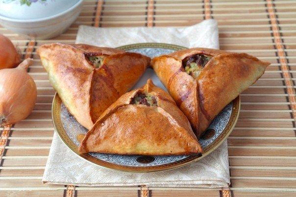 Эчпочмак — пирожки из татарской кухни