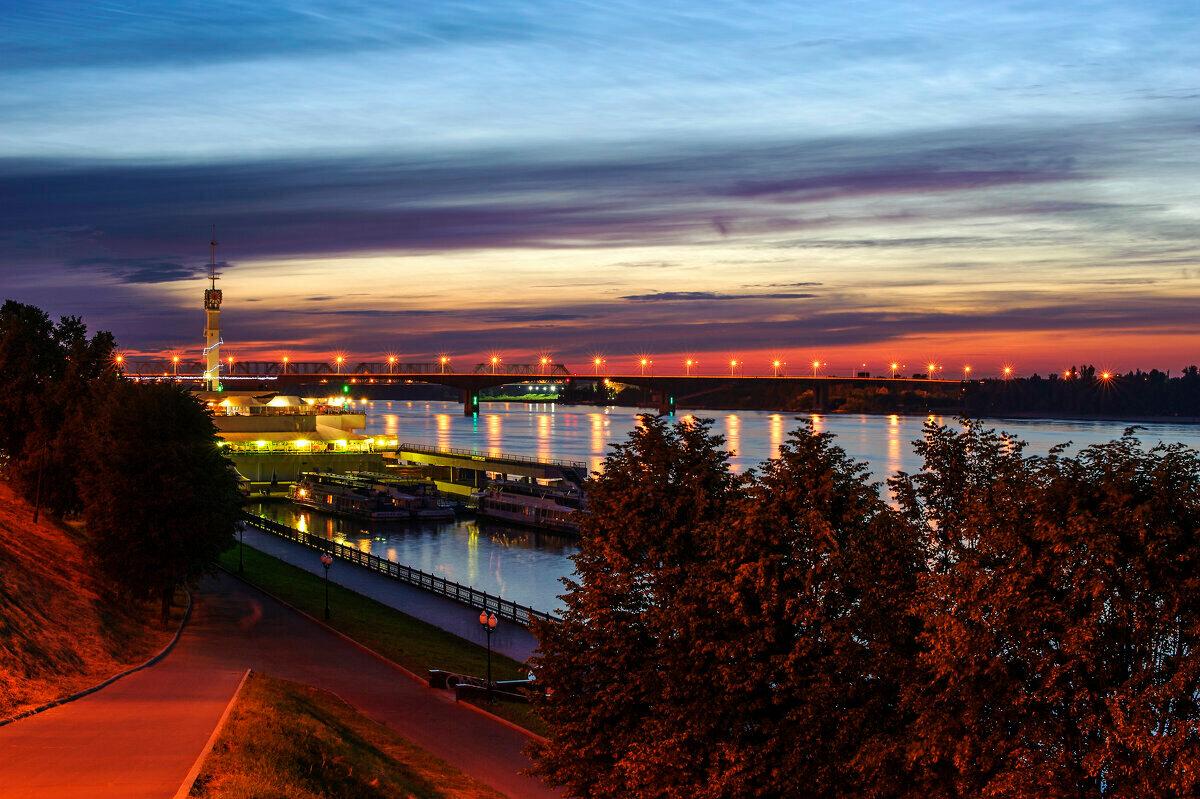 Набережная реки Волга в Ярославле
