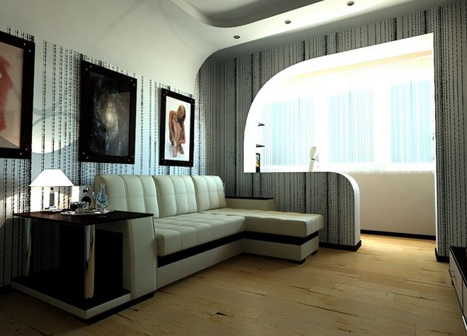 интерьер однокомнатной квартиры 21