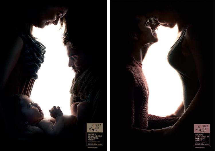 Креативная социальная реклама, призывающая людей брать животных из приютов