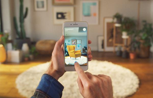 «Примерить» мебель в свою квартиру стало возможным благодаря приложению от IKEA