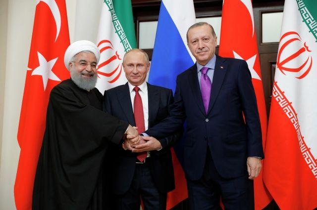 Россия, Иран и Турция продолжат сотрудничество в борьбе с терроризмом