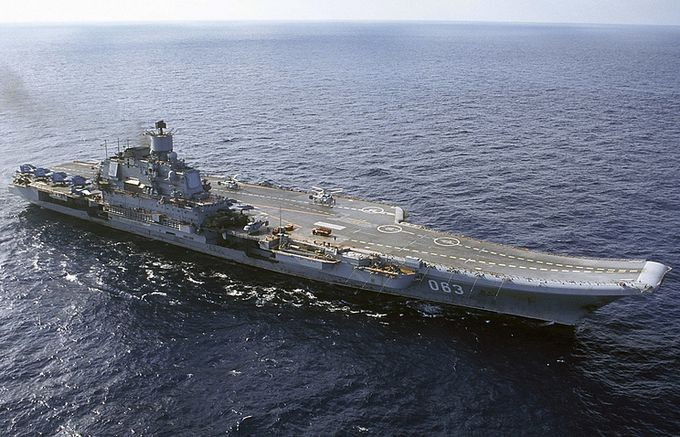 Подлодка Нидерландов пыталась приблизиться к авианосной группе ВМФ РФ в Средиземном море