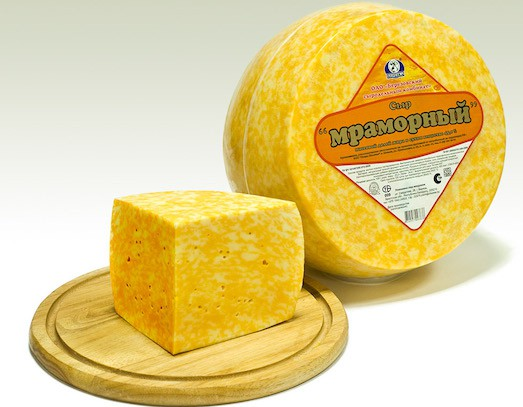 Вкус и рецепт приготовления мраморного сыра