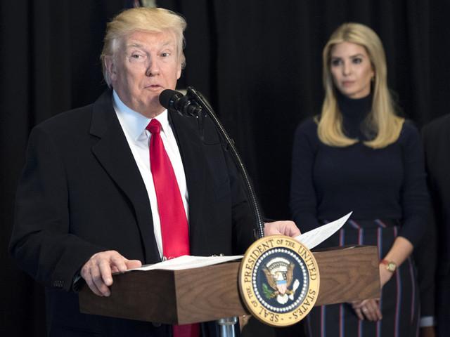 Россия ввела санкции против Иванки Трамп