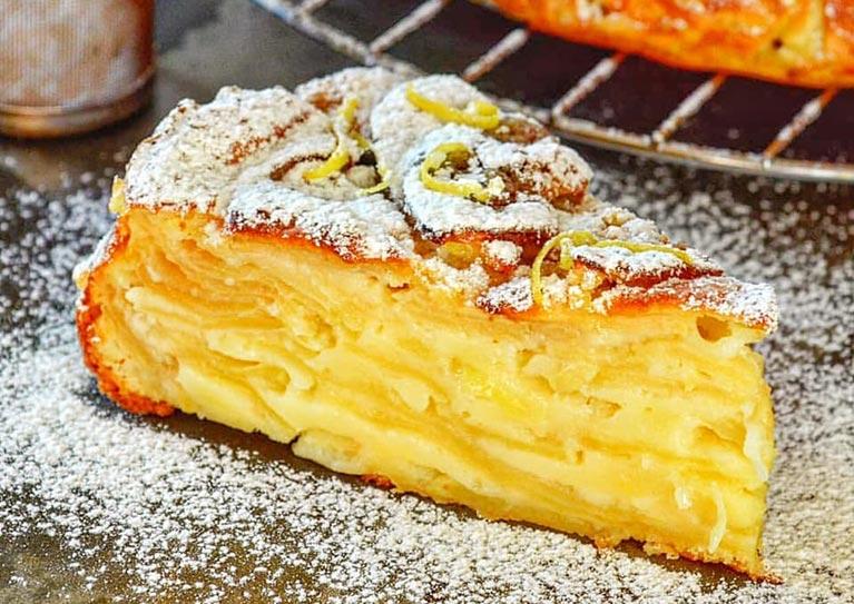 Очень нежно и сочно -  яблочный пирог от богини кондитерии Елены Мироненко