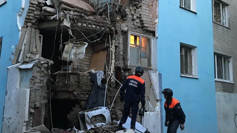 Обрушившийся саратовский дом…