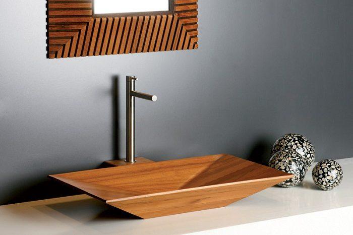 Невероятно красивые деревянные раковины