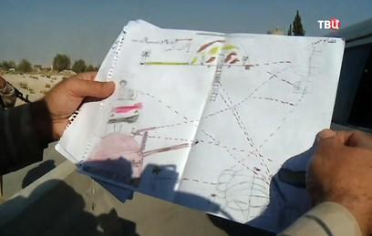 """В Дамаске воспитанники интерната отправили боевикам """"письма мира"""""""