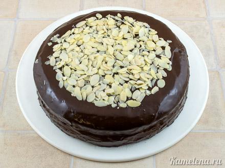 «Дьявольский» шоколадный торт — 15 шаг