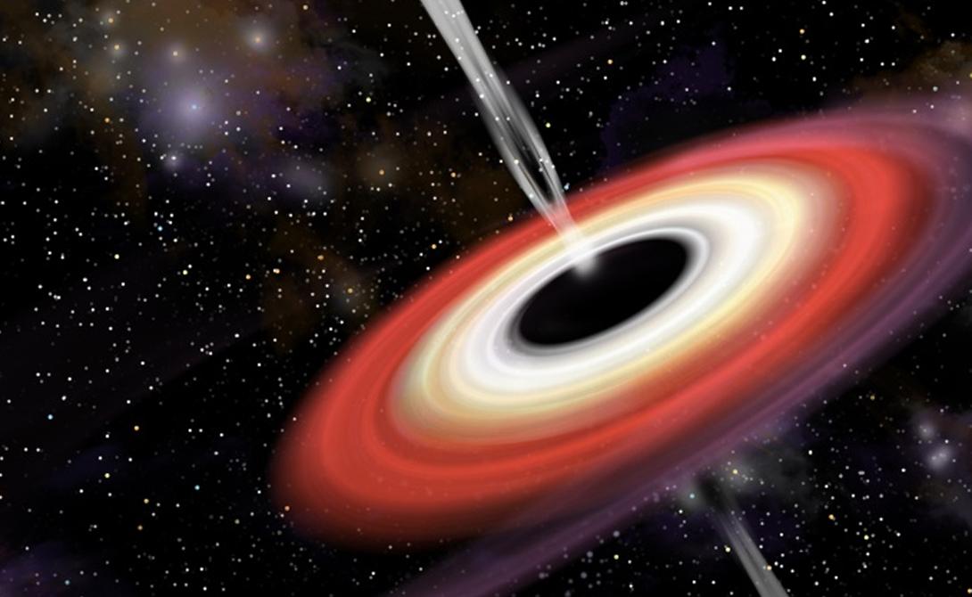 Исчезновение Ученые не могут понять, как именно пропадают черные дыры. Тот же Хокинг еще в 1974 году выяснил, что со временем черная дыра пропадает в окружающем пространстве — но куда она девается никто не понимает.