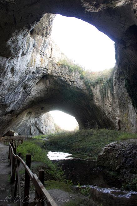 Болгария. Пещера Деветашка