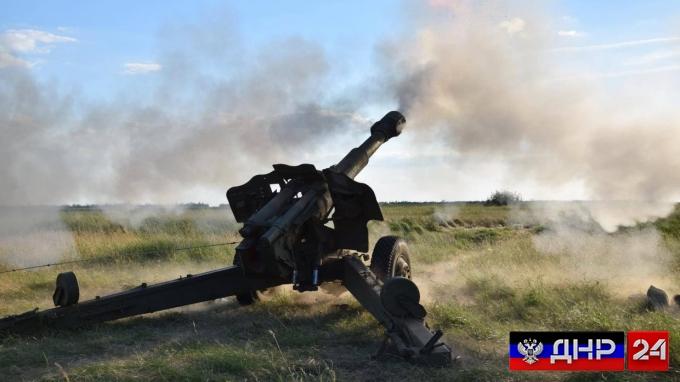 Важно: Украинские боевики нанесли артиллерийский удар по Коминтерново