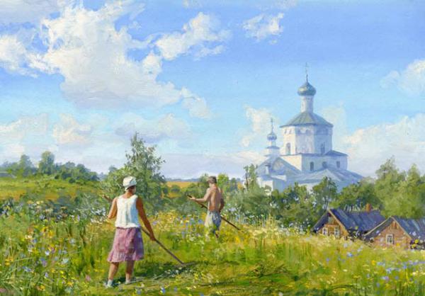 Живопись Владимира Юрьевича Жданова