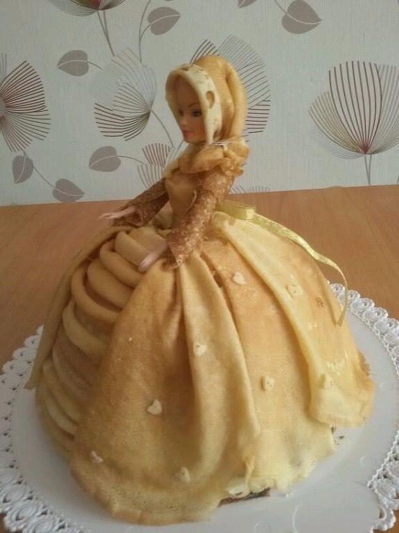 Как сделать торт с блины