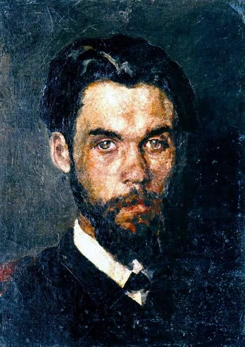 Пимоненко ранее 1912 автопортрет (494x700, 62Kb)