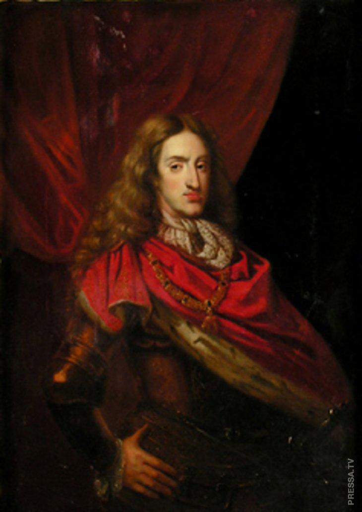 Портрет Карла II, кисти неизвестного художника