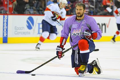 Овечкин сравнялся с Морисом Ришаром по количеству голов в НХЛ