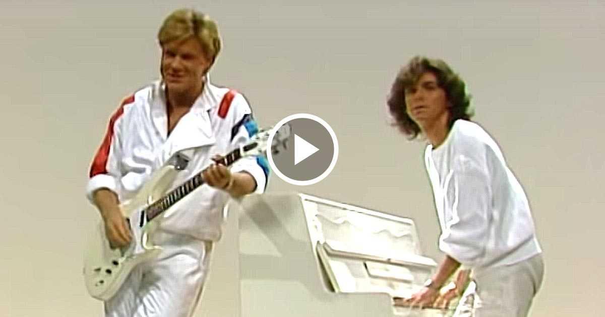 «Модерн Токинг» – первое выступление на ТВ