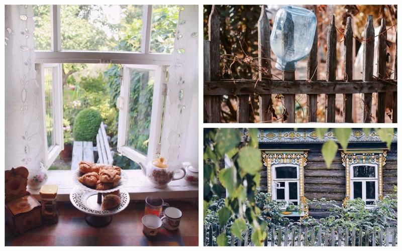 Очарование российской глубинки: особенности быта деревень и сел, в которых остановилось время глубинка, деревня, красиво, лес, россия, село, фото
