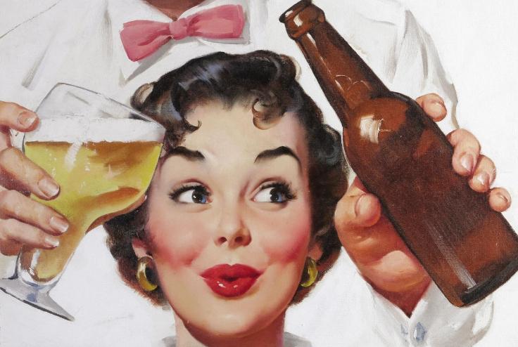 Сколько вина нужно выпить, чтобы стать красивой