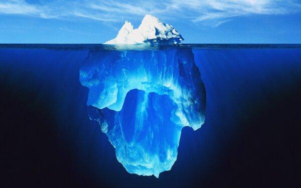 Препятствия в жизни подобны айсбергу. Притча