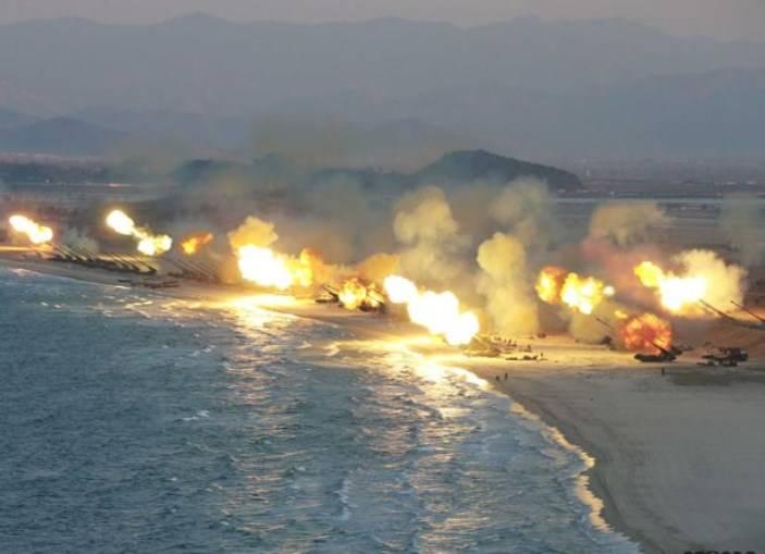 Пхеньян подтвердил, что масштабным учением в КНДР руководил лично  Ким Чен Ын