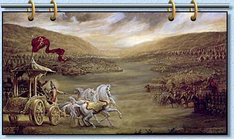 Битва при Курукшетре происходила на территории Руси?