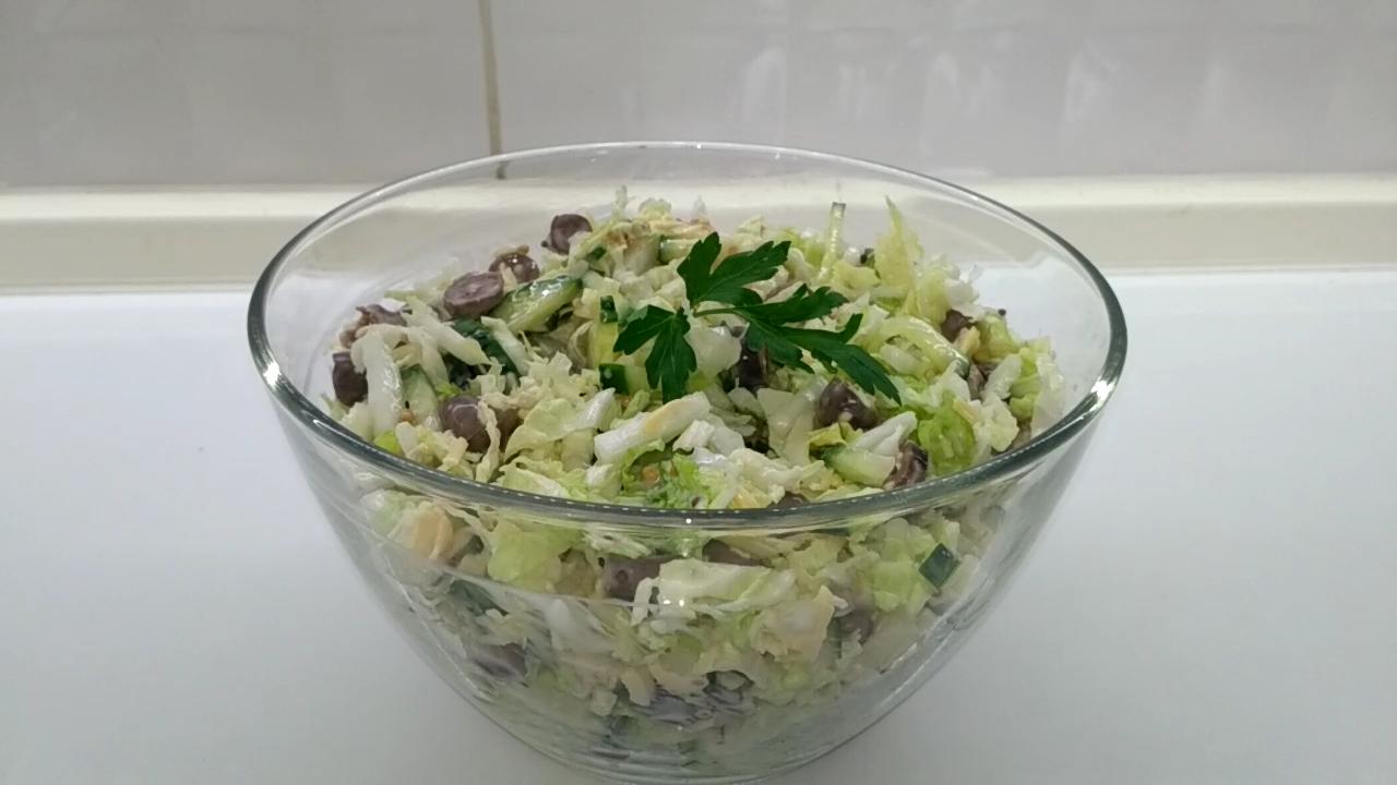 Салат с пекинской капустой и…