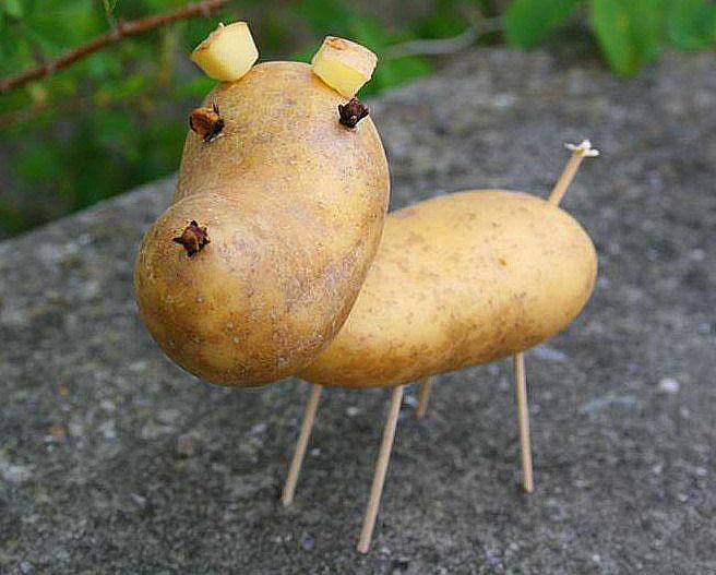 Картошка поделка