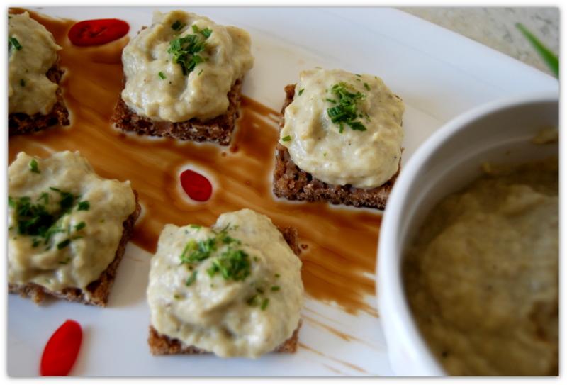 Баклажанная икра с йогуртом по-турецки (Yoğurtlu patlıcan ezmesi)