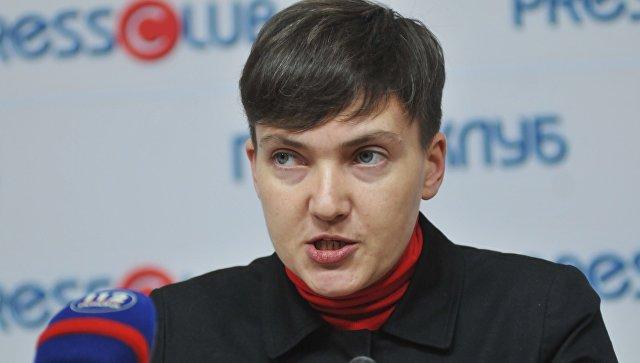 Савченко заявила, что власти Украины уничтожают всех неугодных