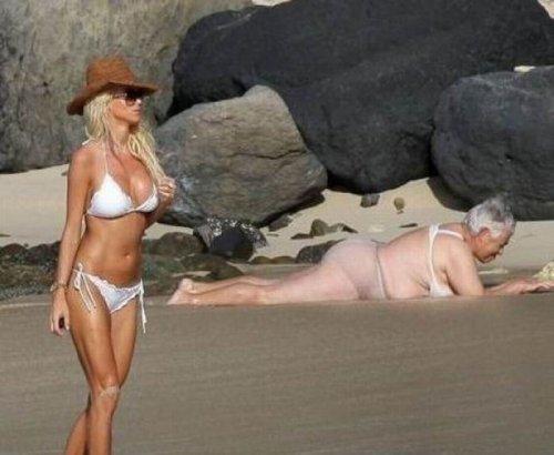 Подборка пляжных фотоприколов :)
