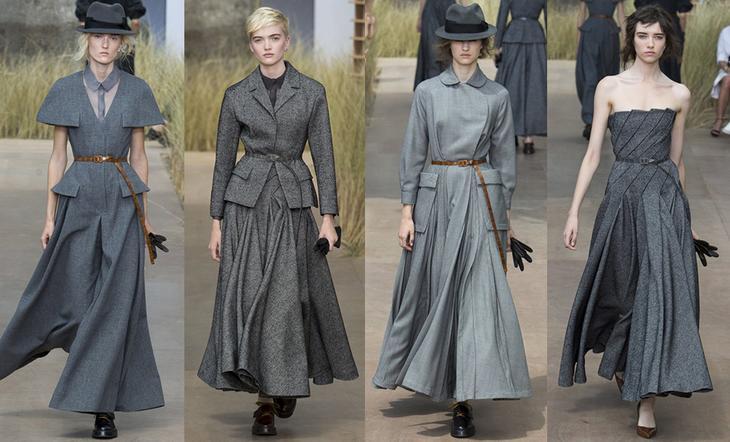 Как демократичная костюмная ткань покорила парижскую высокую моду