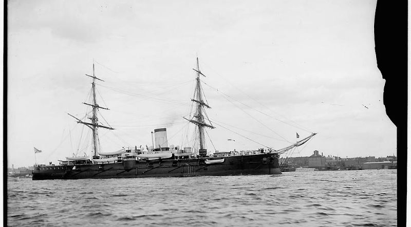 Корабли и офицеры ВМФ Российской империи 1893 года