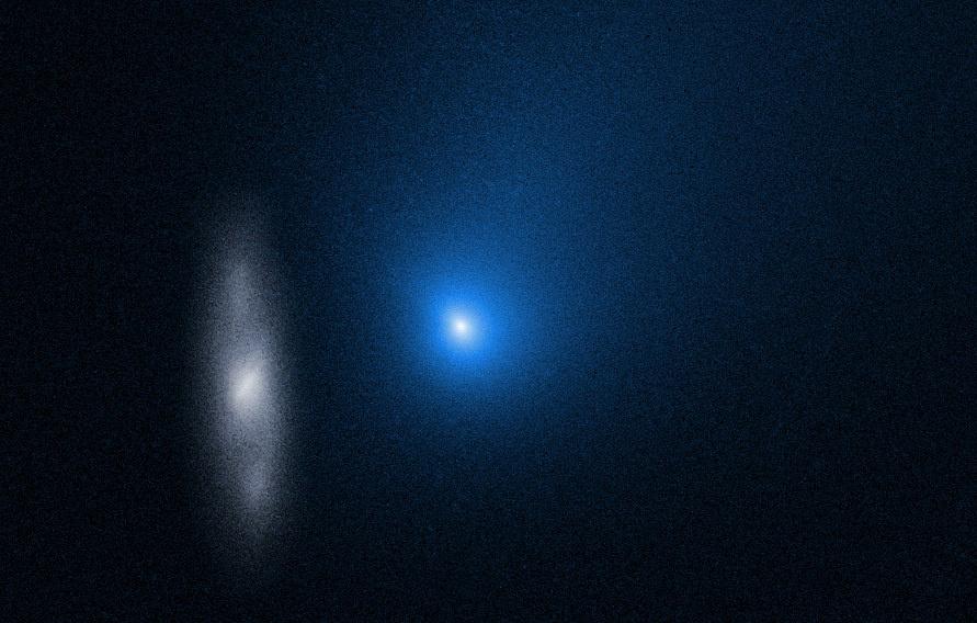 Первая межзвездная комета оказалась еще меньше