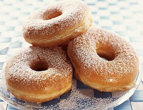 Глазированные пончики рецепт с фото