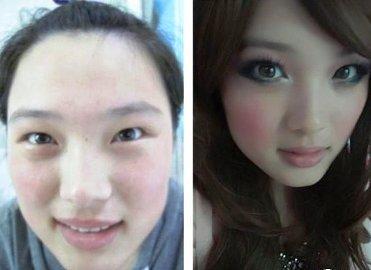 Макияж творит чудеса — волшебные преображения девушек-азиаток