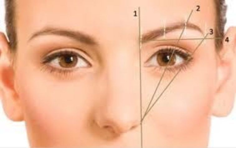 Делаем правильную форму бровей в зависимости от типа лица