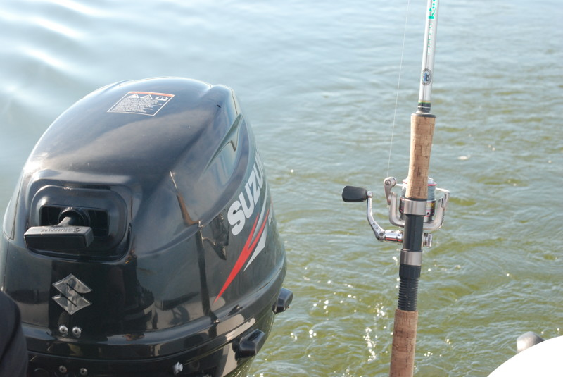 За судаком - новая лодка и новый мотор