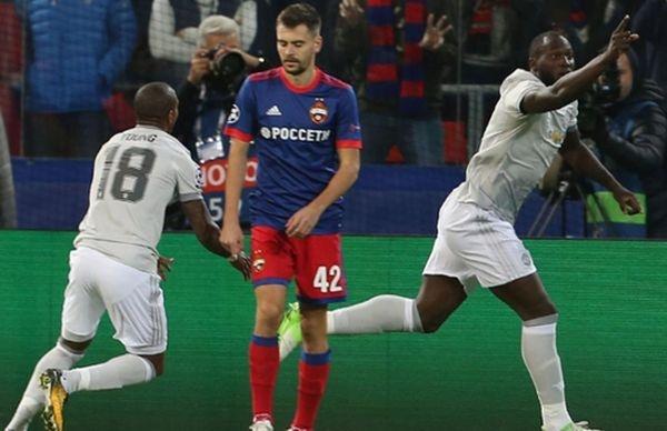 «Манчестер Юнайтед» скрупным счетом разгромил ЦСКА вматче Лиги чемпионов
