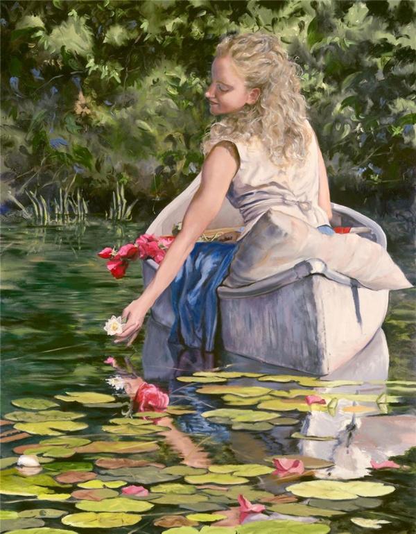 Американская художница Мэри Джейн Кросс