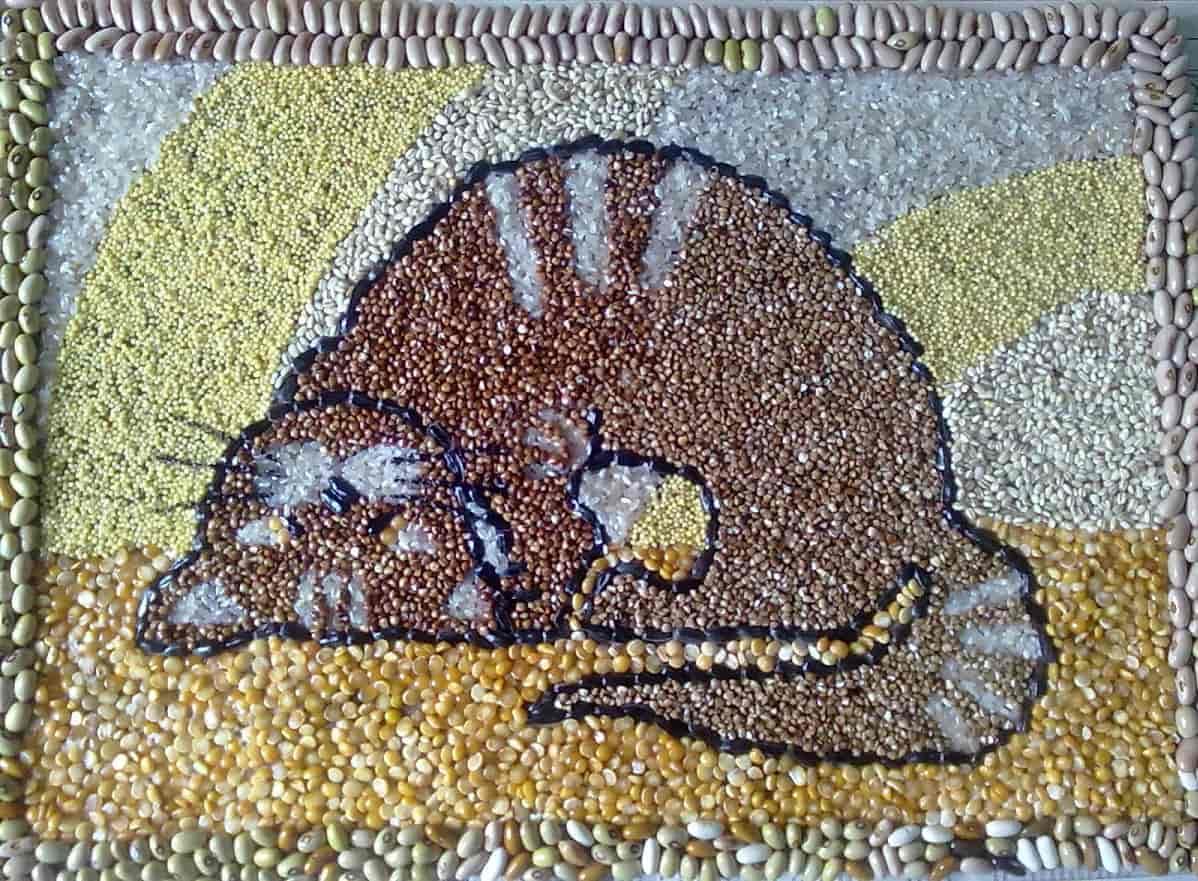 Поделки кошек своими руками из макарон