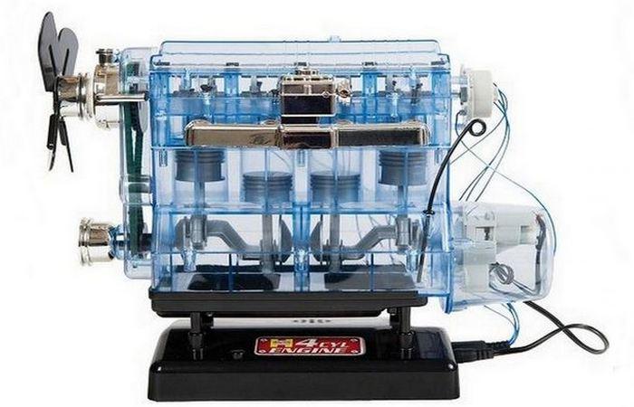 Модель двигателя внутреннего сгорания.