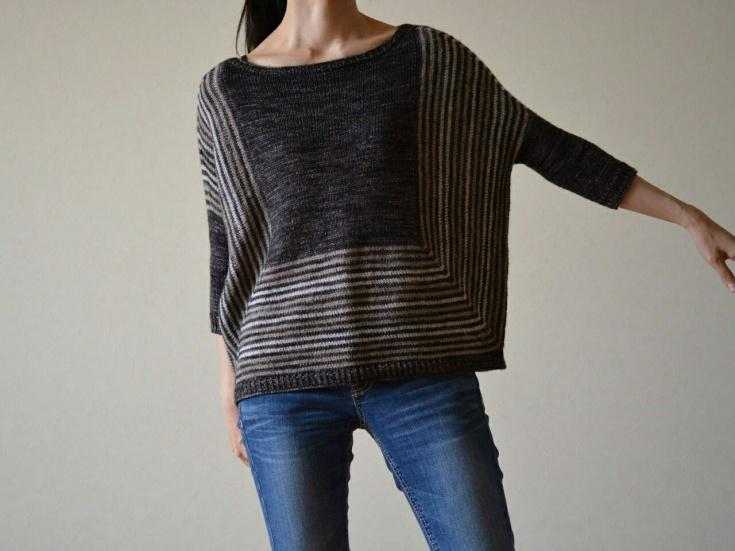 Модный бесшовный свитер (diy)