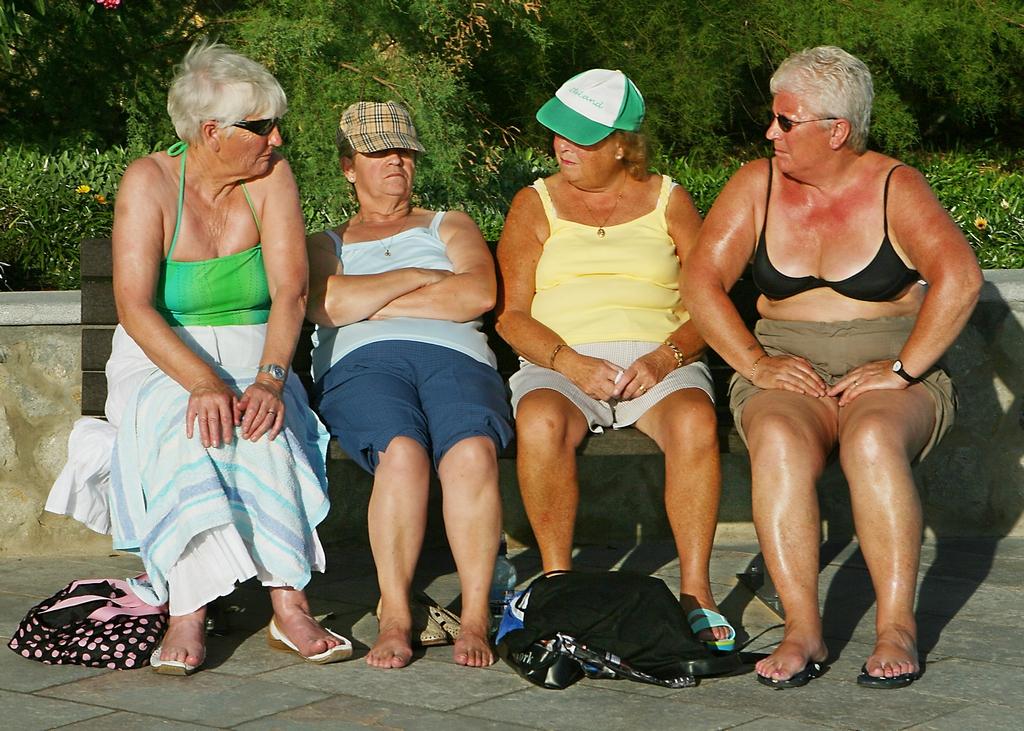 Голые Тетки Бабушки