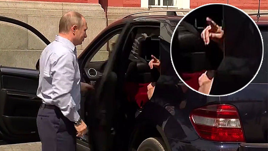 Это того кого надо сумка: Песков рассказал, кто был спутником Путина на самом деле